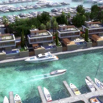 Minister impressed with progress on Ayia Napa marina in Cyprus